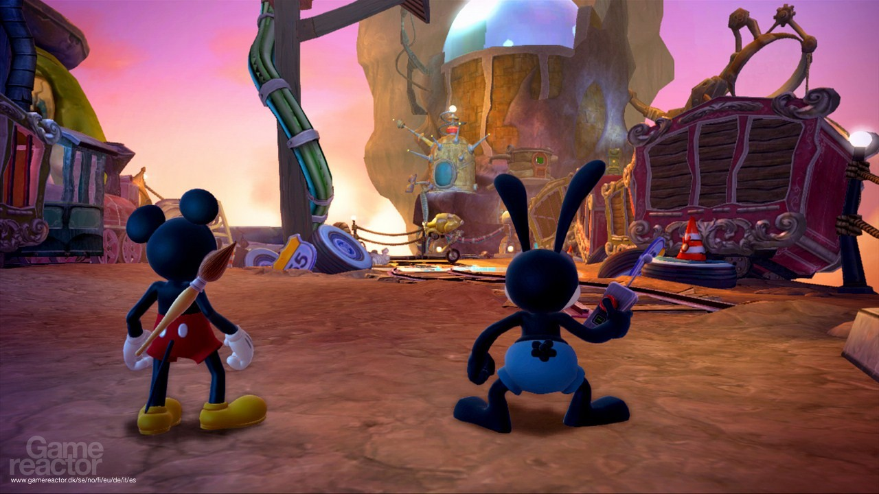 Imágenes de Disney Epic Mickey 2: El retorno de dos héroes 4/24