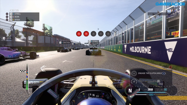 Doble gameplay exclusivo de F1 2018 con un poco de todo