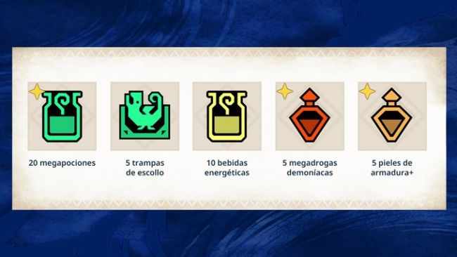 Los probadores ganan un pack de objetos útiles en Monster Hunter Switch