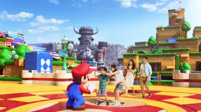 Super Nintendo World Orlando no abrirá hasta 2025