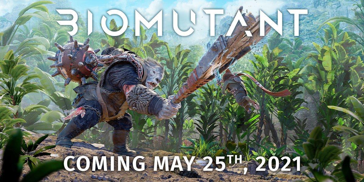 La definitiva: Biomutant toma fecha de lanzamiento