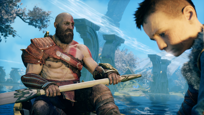 God of War descargará gratis un modo foto y funciona así