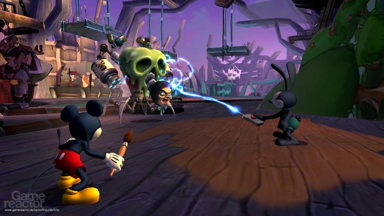 Imágenes de Disney Epic Mickey 2: El retorno de dos héroes 6/6