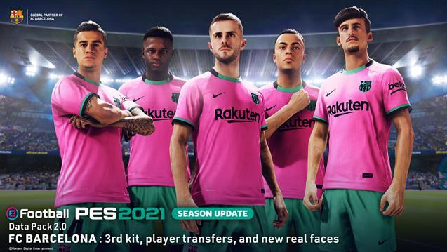 eFootball PES 2021 para PS5 admite Option Files y recibe tu equipo myClub