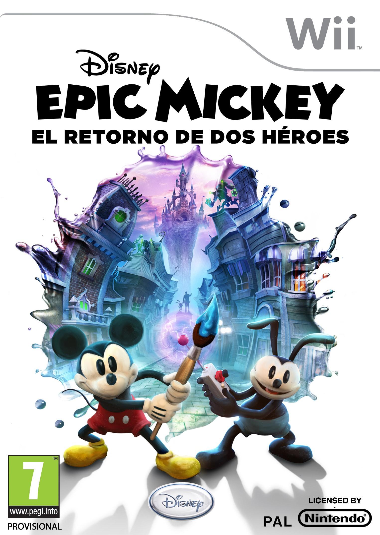 Epic Mickey: retorno de 2 héroes