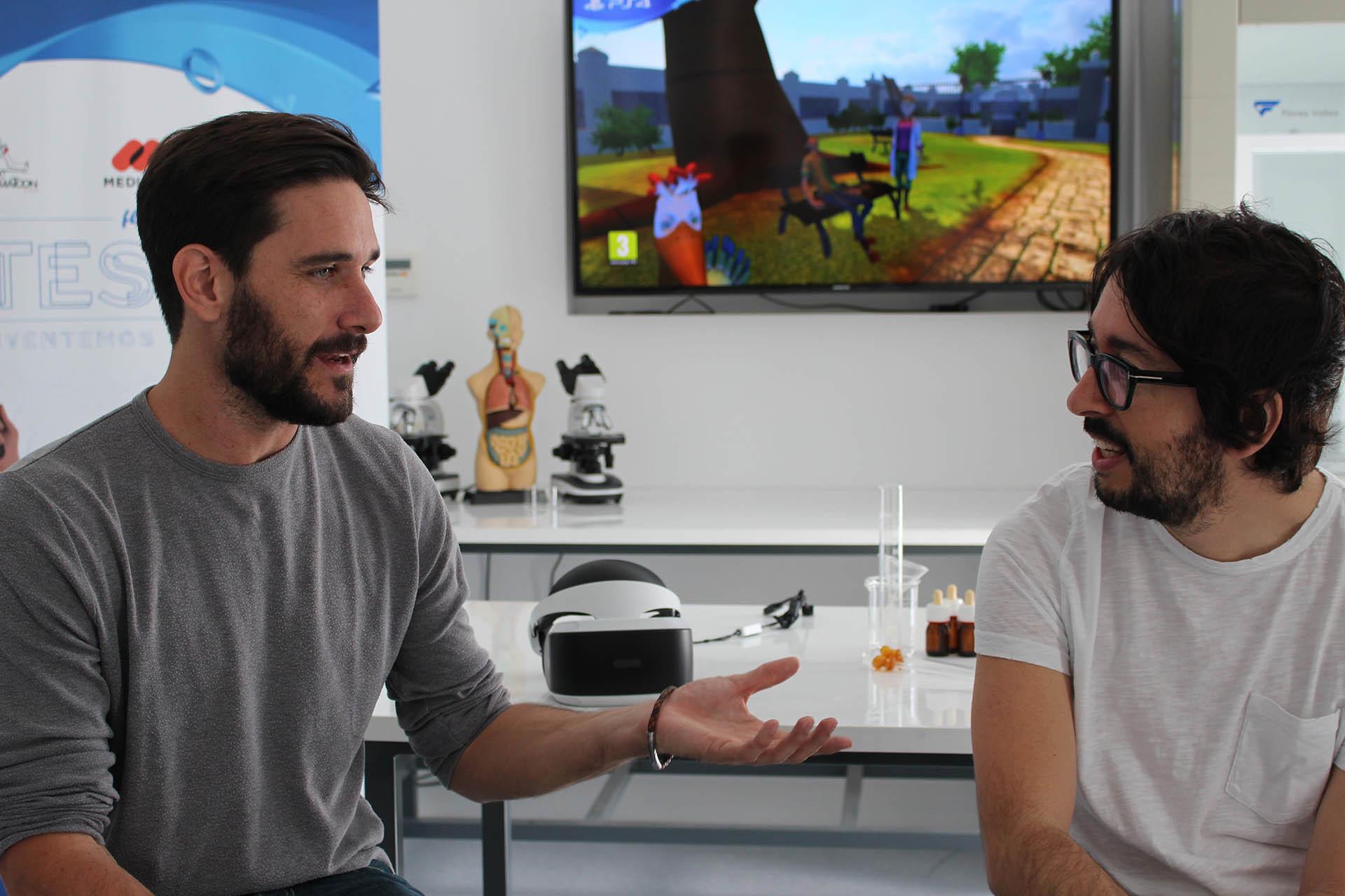 Javier Santaolalla y Flipy