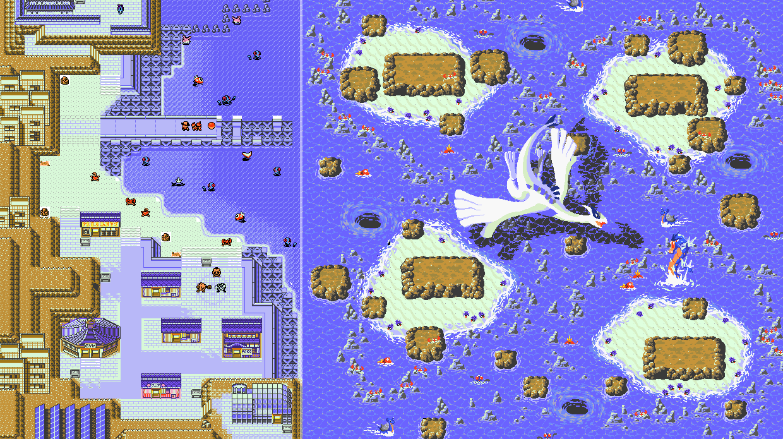 Johto Redrawn, los fans rediseñan Pokémon en un mapa interactivo