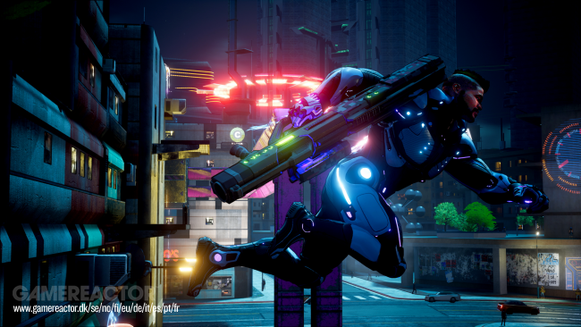 ¿Sigue Crackdown 3 usando la nube? David Jones está fuera