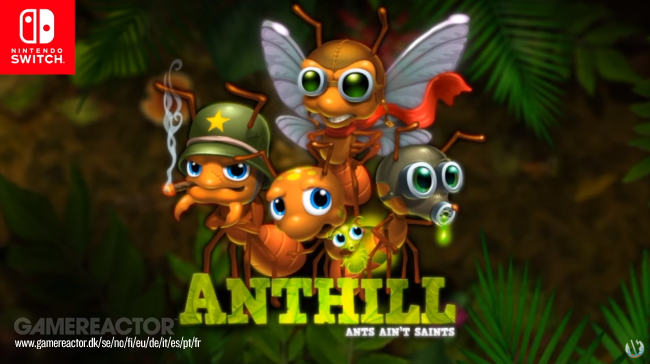 Los creadores de SteamWorld presentan Anthill para Switch