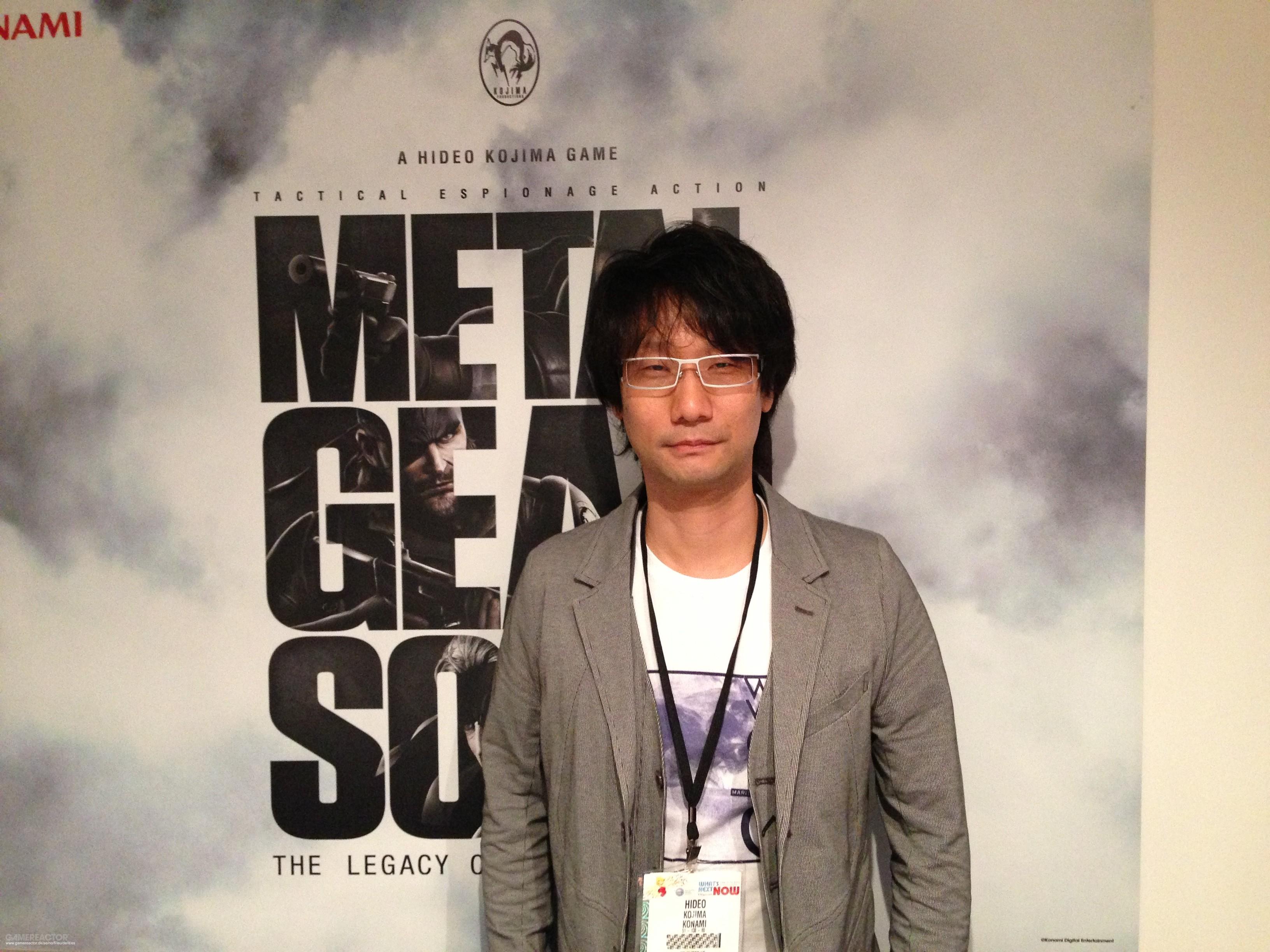 Entrevista: el misterioso Hideo Kojima