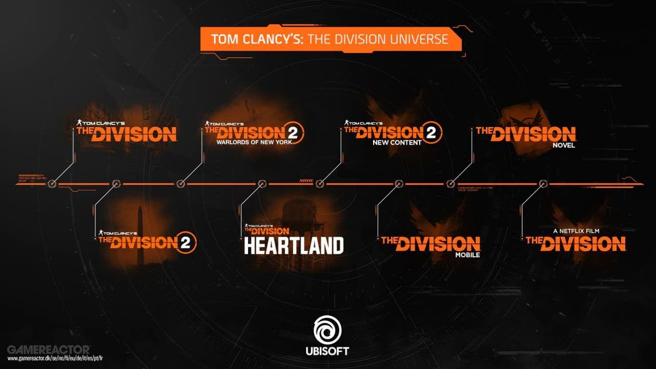 Ubisoft expande el universo The Division con película y dos juegos nuevos