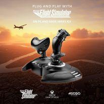 Thrustmaster T. Flight Hotas + T.Flight Rudder Pedals