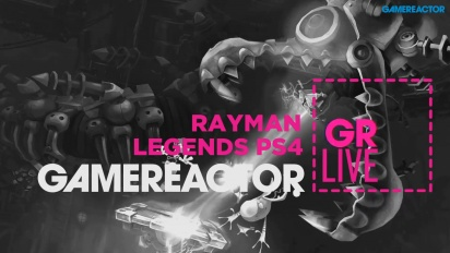 Gameplay Rayman Legends en PS4 - repetición del Livestream