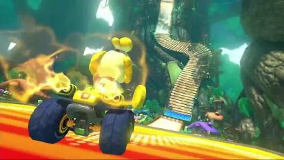 Mario Kart 8 - Bosque Mágico - Tráiler del circuito DLC Set 2