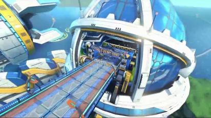 Mario Kart 8 - Big Blue - Tráiler del circuito DLC Set 2