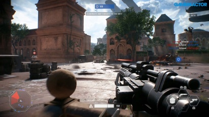 Star Wars Battlefront II - Gameplay multijugador en Naboo