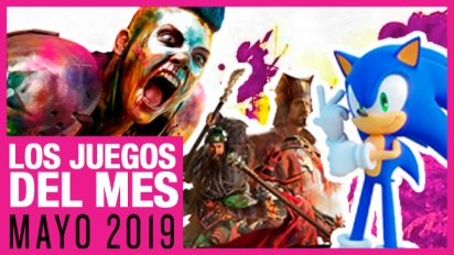 Los juegos del mes: Mayo de 2019
