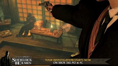 The Testament of Sherlock Holmes - Launch Trailer