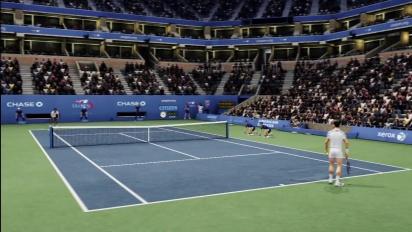 Grand Slam Tennis 2: The ESPN Integration Trailer
