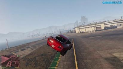 GTA V - Recopilatorio de Saltos Acrobáticos