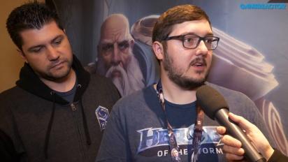 Heroes of the Storm - Entrevista a Matt Villers y Kaeo Milker