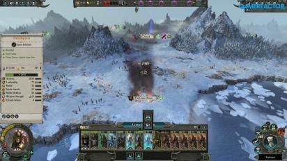 Total War: Warhammer II - Gameplay con la elfa Crone Hellebron