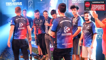 PES League World Tour 2018 Final mundial - Entrevista a los campeones