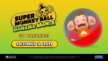 Super Monkey Ball Banana Mania - Announcement Trailer