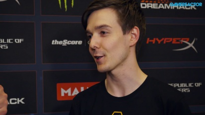 Interview with Godsent's pronax at DreamHack Masters Malmö