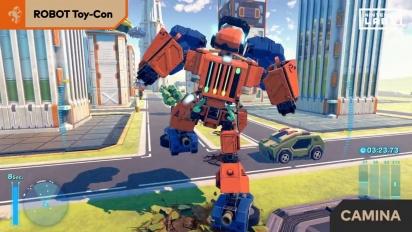 Nintendo Labo - Toy-Con 02: Kit de Robot - Vídeo explicativo español