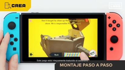 Nintendo Labo - Tráiler general español