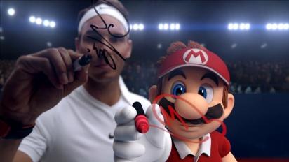 Mario Tennis Aces - Tráiler Ases del Juego con Rafa Nadal