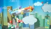Yoshi's Crafted World - Gameplay de Reto: ¡Turbulencias en el avión!