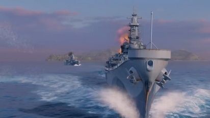 World of Warships: Legends - First Offical Gameplay Closed Beta Trailer