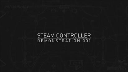 Steam Controller - demostración del mando de Valve