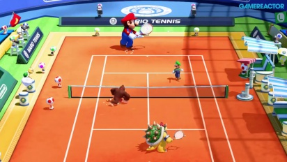Mario Tennis Ultra Smash - Gameplay juego en solitario