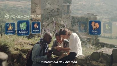 Pokémon Go - Tráiler español Encuentra pokémon en el mundo real