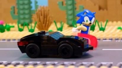 Lego Dimensions - Meet that Hero Sonic Knight Rider Trailer