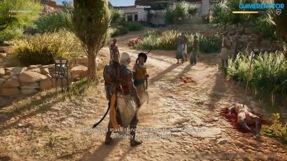 Assassin's Creed: Origins - Gameplay E3 modo historia
