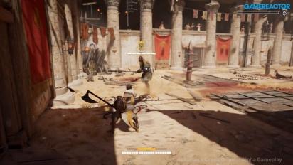 Assassin's Creed: Origins - Gameplay E3 del modo Arena