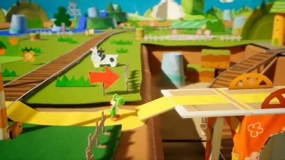 Yoshi's Crafted World - Features Trailer