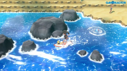 Pokémon: Let's Go Pikachu - Gameplay español Montura Charizard y Surf