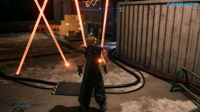 Final Fantasy VII: Remake - Gameplay en inglés versión avance