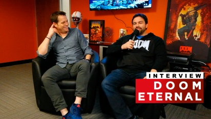 Doom Eternal - Entrevista a Marty Stratton y Hugo Martin