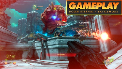 Doom Eternal - Gameplay Battlemode comentado
