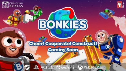 Bonkies - Cheer! Cooperate! Construct! Gameplay Trailer
