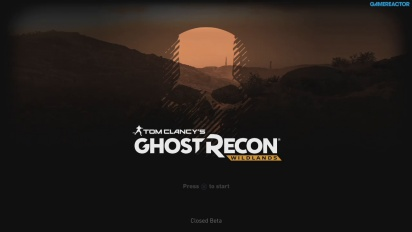 Ghost Recon: Wildlands - Replay del directo a un jugador