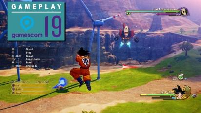 Dragon Ball Z: Kakarot - Gameplay de Gamescom