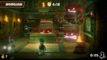 Luigi's Mansion 3 - Tráiler español del DLC 1 del Pack Multijuegos