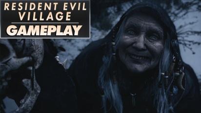 Resident Evil Village - Gameplay de la Demo Aldea